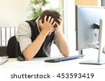 Depressed Businessman After...