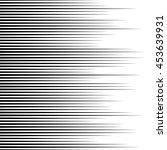 monochrome lines pattern ... | Shutterstock .eps vector #453639931