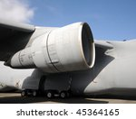 jet engine used on military... | Shutterstock . vector #45364165