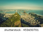 Aerial View Of Botafogo Bay An...