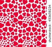 Heart Vector Seamless Pattern....