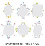 vector illustration of a frame... | Shutterstock .eps vector #45367723