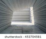 architectural design concrete... | Shutterstock . vector #453704581