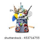 travel and tourism | Shutterstock . vector #453716755