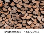 Wood Background Texture Logs...