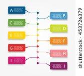 infographic design template... | Shutterstock .eps vector #453726379