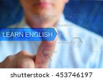 learn english concept image.... | Shutterstock . vector #453746197