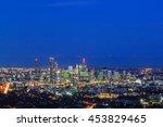 Night View Of The Brisbane Cit...