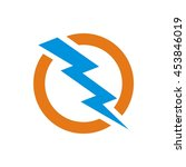 electric power   vector stock... | Shutterstock .eps vector #453846019