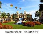 the grand casino monte carlo... | Shutterstock . vector #45385624
