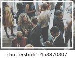 banner copy space template... | Shutterstock . vector #453870307