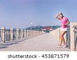sport lifestyle. exercising... | Shutterstock . vector #453871579