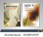 front and back page brochure... | Shutterstock .eps vector #453891955
