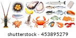 set of different kinds of... | Shutterstock .eps vector #453895279