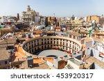 aerial view of plaza redonda ... | Shutterstock . vector #453920317