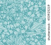 vector seamless pattern with... | Shutterstock .eps vector #453925219