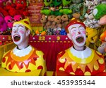 Two Laughing Clown Ball...