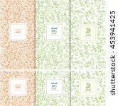 vector set of design elements... | Shutterstock .eps vector #453941425