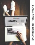 Small photo of Skills Talent Expert Aptitude Proficiency Professional Concept