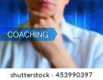 coaching concept image.... | Shutterstock . vector #453990397