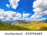 montenegro  national park... | Shutterstock . vector #453996685