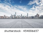 cityscape and skyline of... | Shutterstock . vector #454006657