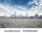 cityscape and skyline of... | Shutterstock . vector #454006684