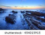 Beautiful Sunrise Scenery Of A...
