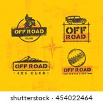 off road park outdoor extreme... | Shutterstock .eps vector #454022464