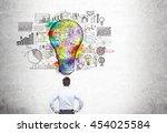 Creative Business Idea Concept...
