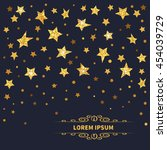 stars background. vector...   Shutterstock .eps vector #454039729