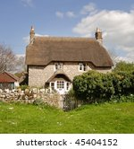 Thatched Cottage In Rural...