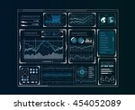 human user display . mixed media | Shutterstock . vector #454052089