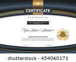 certificate to be elegant and... | Shutterstock .eps vector #454060171