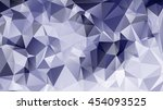 geometric pattern  triangles... | Shutterstock .eps vector #454093525