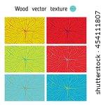 texture of the wood cross cut ... | Shutterstock .eps vector #454111807