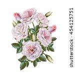flower composition. bouquet of... | Shutterstock . vector #454125751