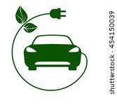 electric car  bio fuel  eco... | Shutterstock . vector #454150039