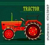 easy to edit vector... | Shutterstock .eps vector #454158469