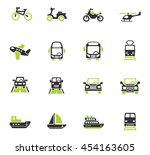 transport web icons for user...   Shutterstock .eps vector #454163605