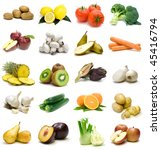 vegetables and fruits | Shutterstock . vector #45416794