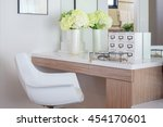 jewelry accessory and jar of...   Shutterstock . vector #454170601