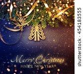 christmas tree | Shutterstock . vector #454183555
