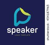 communication logo | Shutterstock .eps vector #454187965
