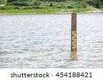 Water Leveler Gauge In Lake