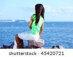 woman relax | Shutterstock . vector #45420721
