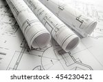 the part of architectural... | Shutterstock . vector #454230421
