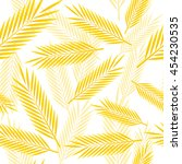 seamless pattern with yellow...   Shutterstock .eps vector #454230535