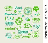 set of elements for design  ... | Shutterstock .eps vector #454250815