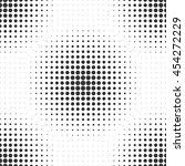 halftone circles. seamless...   Shutterstock .eps vector #454272229